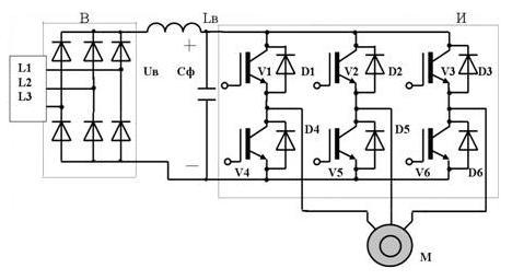 Схема частотный преобразователь