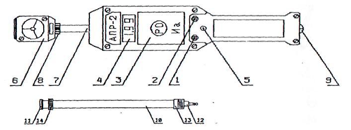 Анемометр АПР-2.