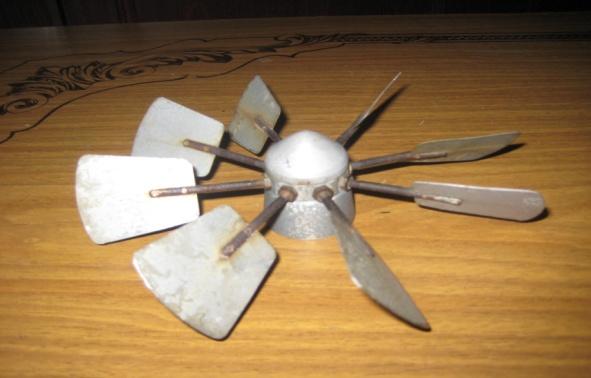 Ветряк как сделать лопасти